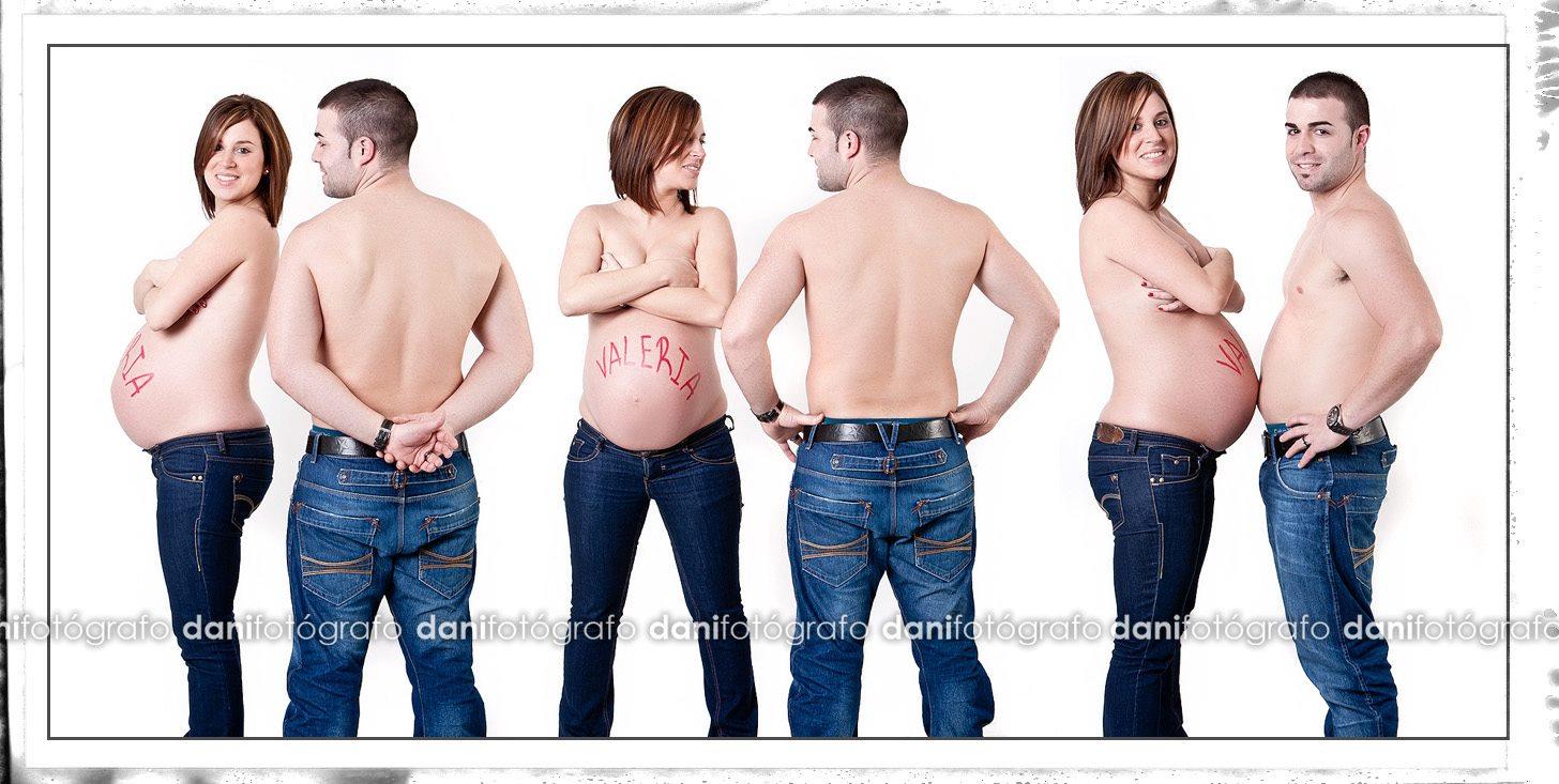 Fotografía de estudio de embarazo en Asturias