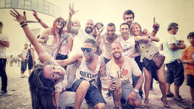 Holi Party Festival en Avilés