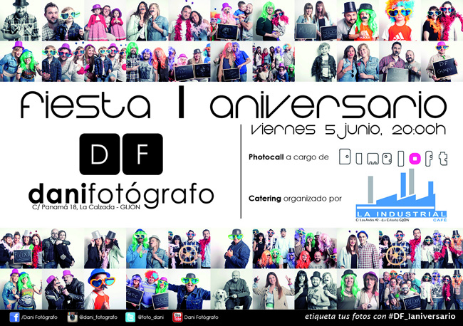 Fiesta I Aniversario Dani Fotografo