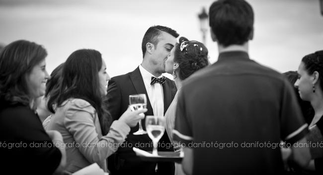Fotos de boda en el Parador de Ribadeo