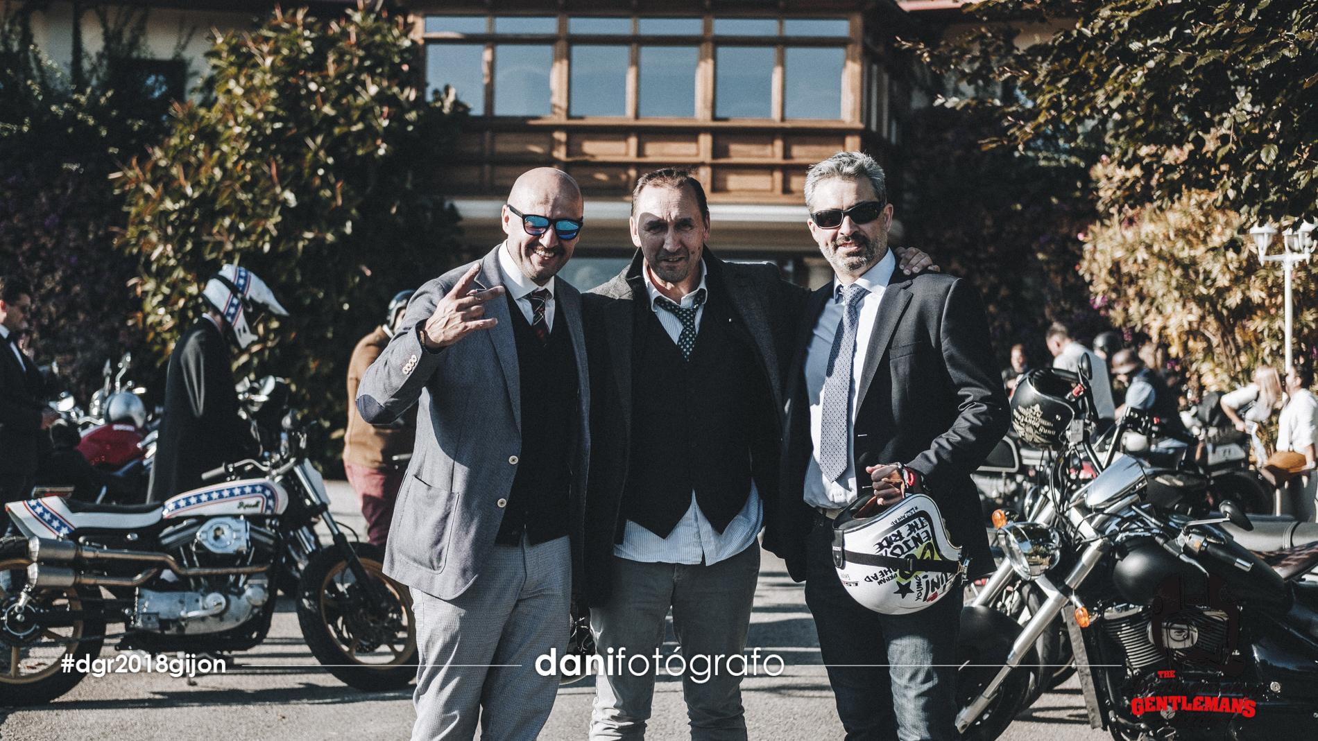 dgr 2018 gijon Distinguished Gentleman's Ride